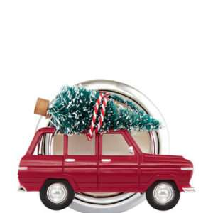 CHRISTMAS ROAD-TRIP VISOR CLIP