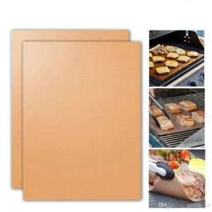 -Tvenna** Grill/ofnhanskar og Grillmottur (5stk) Copper