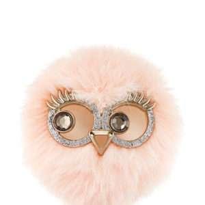 -PINK LADY OWL VISOR CLIP