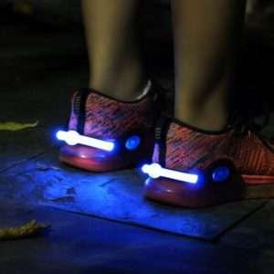 LED göngu og hjólaljós
