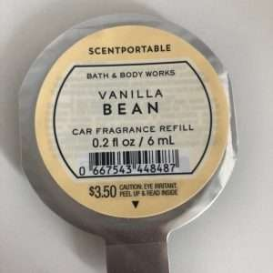 .Bílailmur fylling- Vanilla Bean