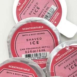 .Bílailmur fylling- Shaved Ice