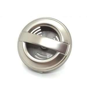 Silver Rubber Vent Clip
