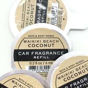 .Bílailmur fylling-Waikiki Beach Coconut