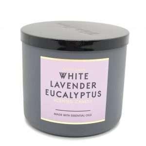 -BBW- White Lavender Eucalyptus 3-Þráða