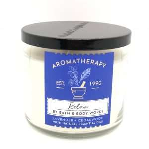 -BBW-Aromatherapy Relax: Lavender & Cedarwood 3-Þráða