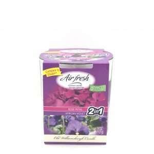 -OLD- 4oz Air Fresh Rose Petal-African Violet 1-Þráða
