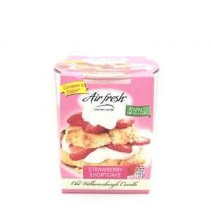 -OLD- 4oz Air Fresh Strawberry Shortcake 1-Þráða
