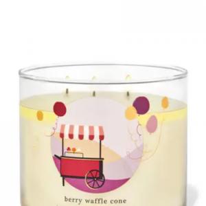 -BBW-Berry Waffle Cone 3-Þráða